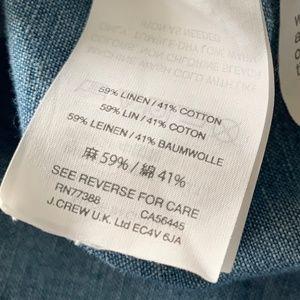 Madewell Dresses - Madewell Chambray Shirt Dress Size XS